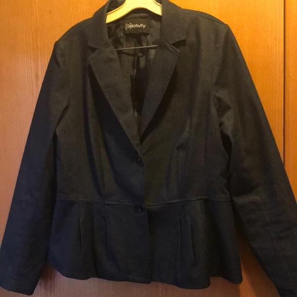 ea6acd71d9c1f Denim blazer and pants suit. M 5aadb495c9fcdf9dce18f3b5